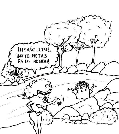 Heráclito no te metas pa lo hondo